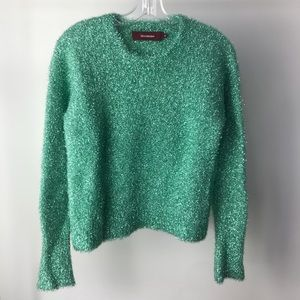 Sies Marjan Green Crewneck Sweater